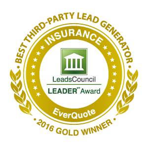 2016 Gold Winner:  Best Lead Generator