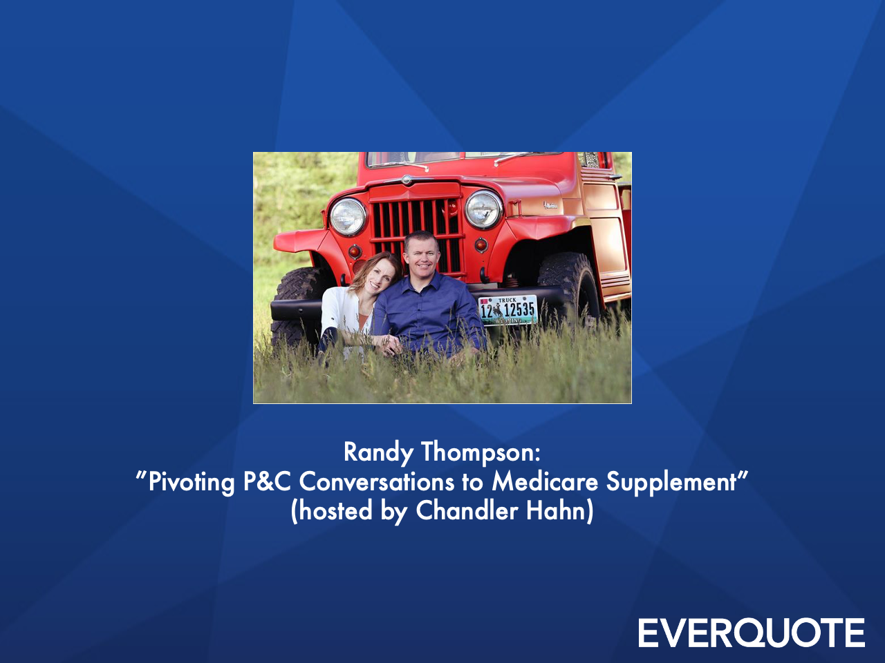 Pivoting P&C Conversations to Medicare Supplement with Randy Thompson (hosted by Chandler Hahn)